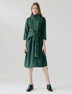 ATS THE LABEL Meicamakeup Emerald Dress - Green