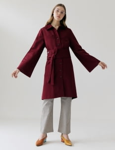 ATS THE LABEL The_Widira_S Outwear - Maroon