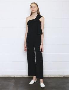 Maja Studio Iggy Knot Jumpsuit - Black