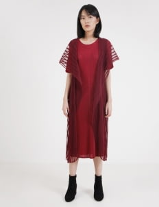 BOWN Victoria Dress - Maroon