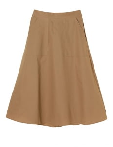 E-hyphen World Gallery by Stripe Japan Rika Skirt - Beige
