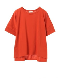 Earth, Music & Ecology by Stripe Japan Risa Top - Terracotta