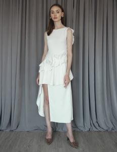 Cara Woman Adelia Dress - White
