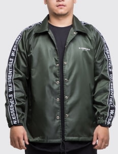 W.Essentiels Delibes Windbreaker Jacket - Forest Green