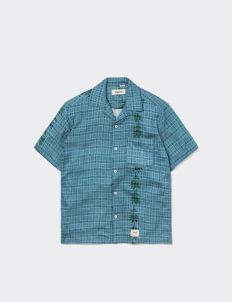 Shipyard Sunday Shirt - Blue Dots
