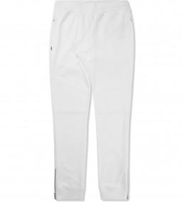 MAGIC STICK White Biker Jersey Track Pants