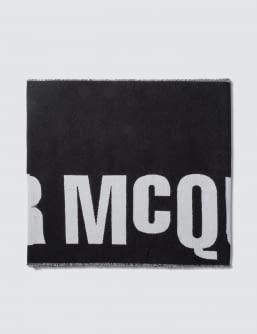 McQ Alexander McQueen New Logo Scarf