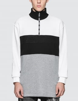 Staple Tape Mockneck Sweat