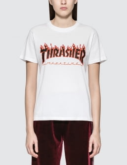 Thrasher Flame S/S T-Shirt
