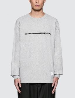 MKI Black Layered Logo L/S T-Shirt