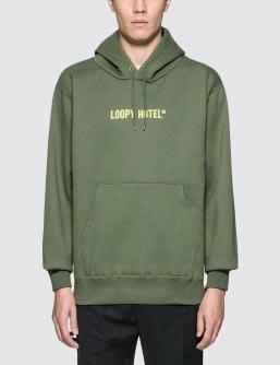Loopy Hotel Logo Emb. Pullover Hoodie