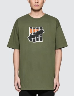 UNDEFEATED 5 Strike Court Run T-Shirt