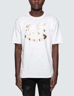 Sex Skateboards Sex Logo Gold Foil S/S T-Shirt