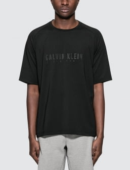 Calvin Klein Performance Logo Mid Sleeve T-Shirt