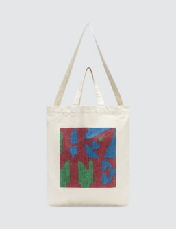 "Medicom Toy Sync.-D*FACE ""Hate"" Herringbone 2way Tote Bag"