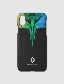 MARCELO BURLON Rainbow Wing IPhone Case