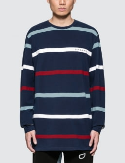 Diamond Supply Co. Paradise Striped L/S T-Shirt