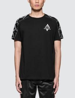 MARCELO BURLON Kappa Tape T-Shirt