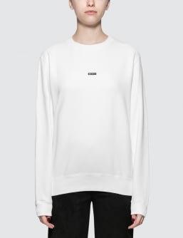 Sacai x Fragment Design Sacai Box Logo Sweatshirt