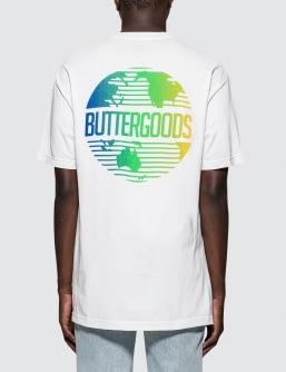 Butter Goods Gradient Worldwide Logo T-Shirt