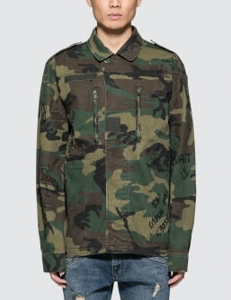 Alpha Industries Decorated F-2 French Field Coat