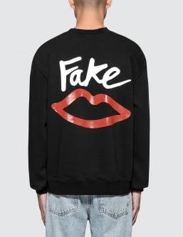 Sex Skateboards Crew Neck Fake Sweatshirt