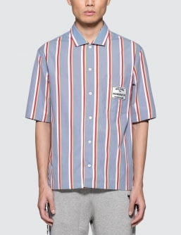 MAISON KITSUNE Stripes S/S Shirt