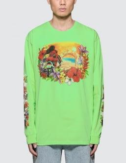 Stussy Hellshire Pig. Dyed L/S T-Shirt