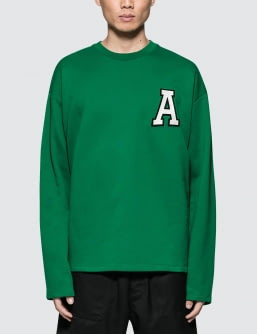AMI Crewneck Sweatshirt With Patch