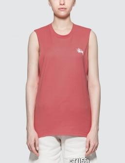 Stussy Basic  Raw Muscle T-Shirt