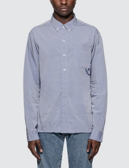Denim by Vanquish & Fragment Coach Shirt