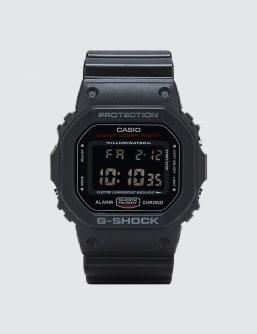 "G-Shock DW5600HR ""Black & Red Series"""