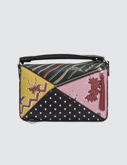 Loewe Puzzle Paula Patchwork Bag
