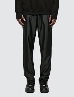 MKI Black Casual Suit Trouser