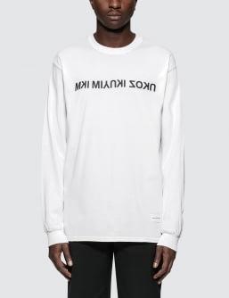 MKI Black Mix Logo L/S T-Shirt