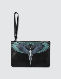MARCELO BURLON Wings Clutch