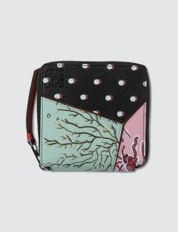 Loewe Paula Puzzle Square Zip Wallet