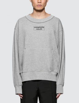 MR.COMPLETELY Front Back Sweatshirt