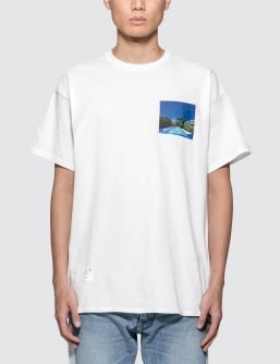 MAGIC STICK Laid Back S/S T-Shirt Artwork By Hiroshi Nagai