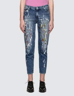 CALVIN KLEIN JEANS Sterling Straight Ankle Jeans