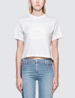 CALVIN KLEIN JEANS Cropped Logo S/S T-Shirt