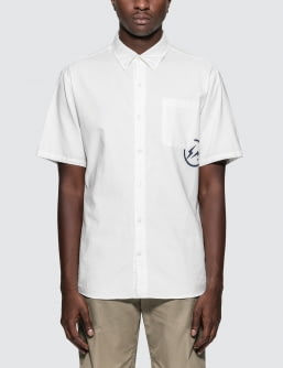 Denim by Vanquish & Fragment Oxford S/S Shirt