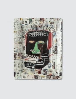 "Ligne Blanche Jean-Michel Basquiat ""Glenn"" Tray"