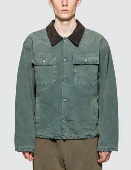 Yeezy Season 6 Flannel Lined Canvas Jacket