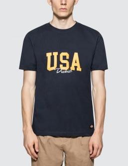 Dickies USA Logo S/S T-Shirt