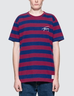 Tommy Jeans Tommy Signature Stripe S/S T-Shirt