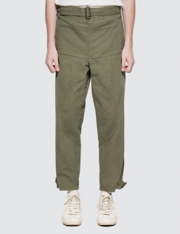 J.W.Anderson Garment Dyed Army Trousers