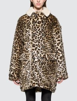 R13 Leopard Hunting Coat