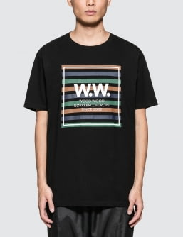 Wood Wood WW Stripes S/S T-Shirt