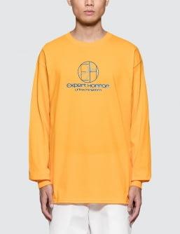 Expert Horror Roundel Logo L/S T-Shirt